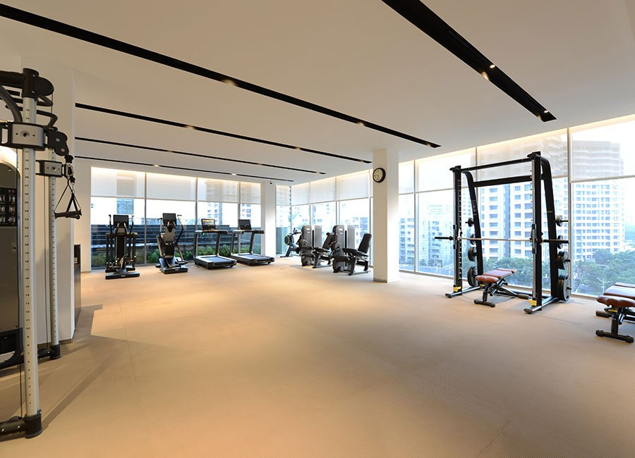 Prisma By Oberoi Realty - with Gym
