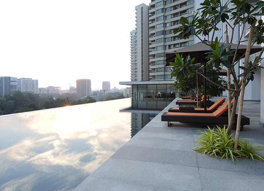 Prisma By Oberoi Realty - Swimming Pool