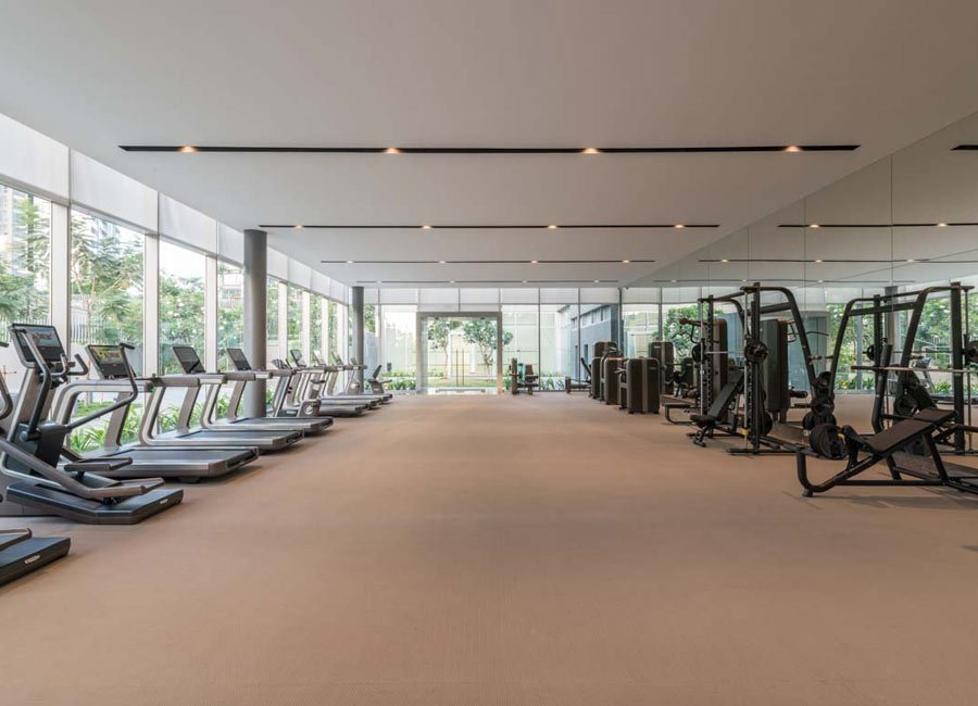 Gym - oberoi realty esquire