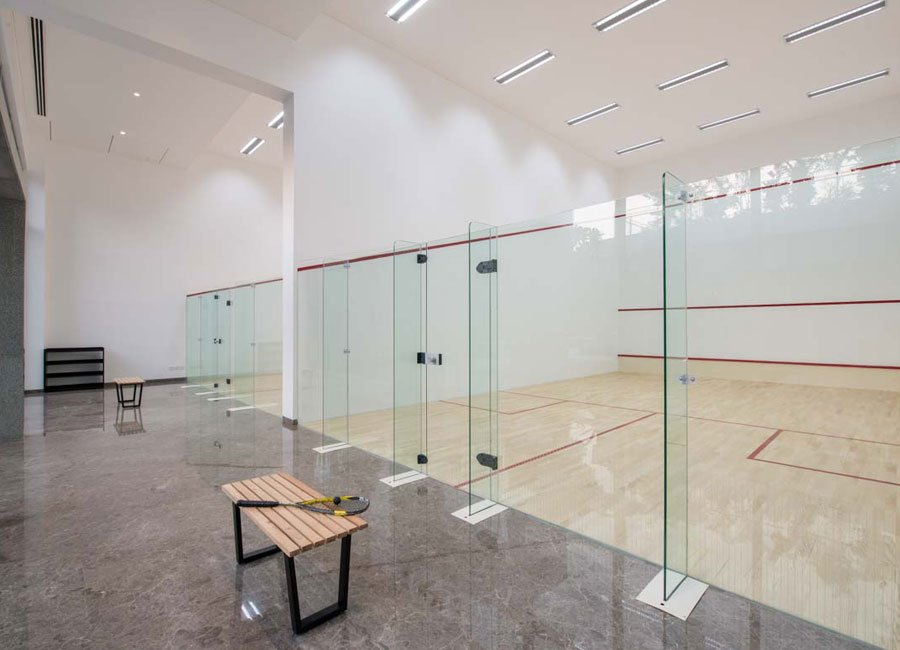 Squash-Courts - oberoi realty esquire