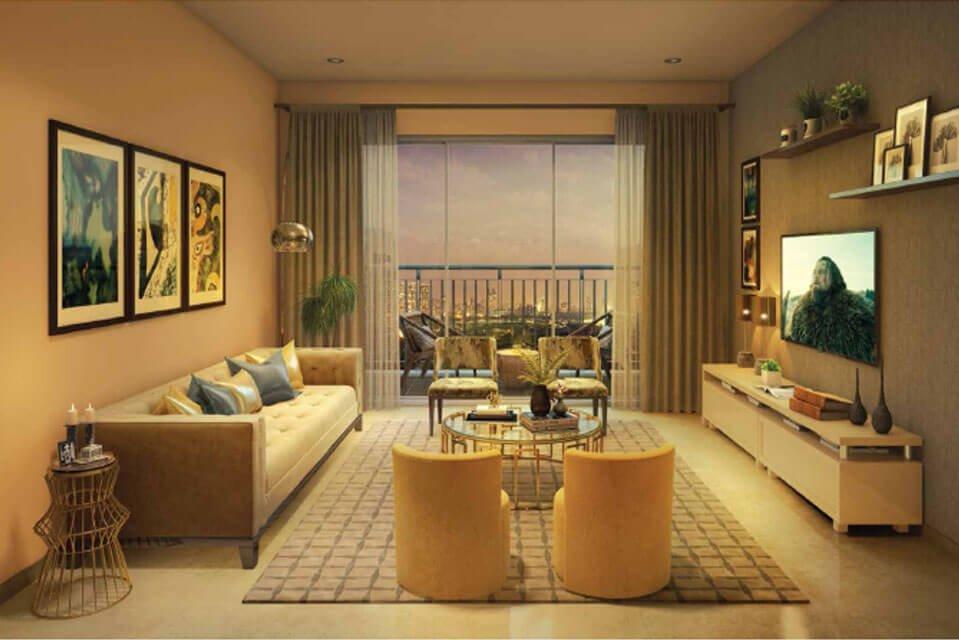 emerald isle - Living-Room-3-BHK