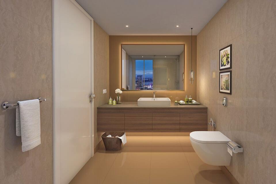 l&t emerald isle - Washroom